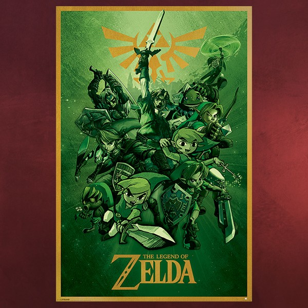 Zelda - Link Maxi Poster