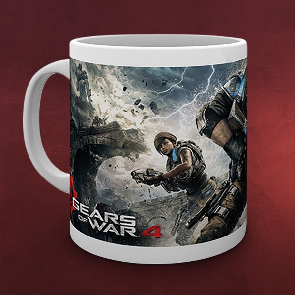Gears of War - Game Cover Tasse