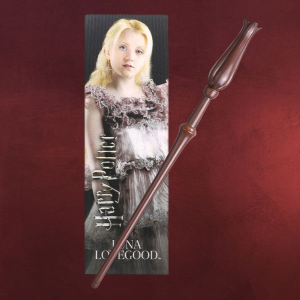 Luna Zauberstab für Jungzauberer mit Lesezeichen - Harry Potter