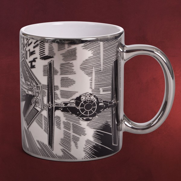 Star Wars - Tie Fighter Attack Metallic Tasse