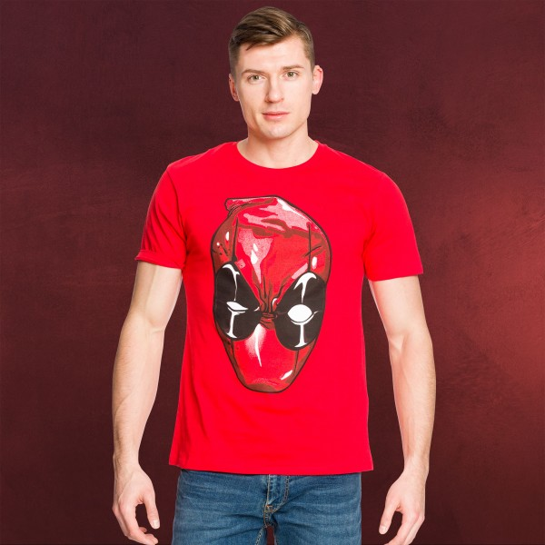 Deadpool - Head T-Shirt rot