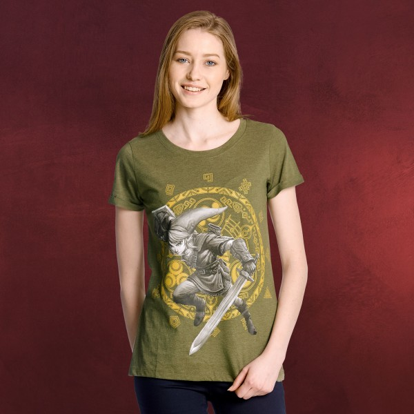 Zelda - Gate of Time Girlie Shirt