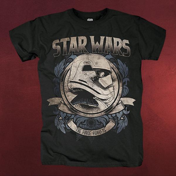 Star Wars - First Order Trooper T-Shirt schwarz