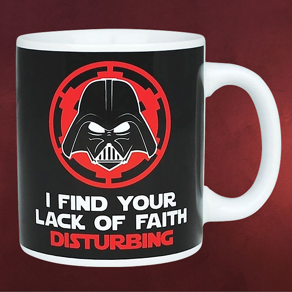 Star Wars - Darth Vader Lack of Faith Tasse