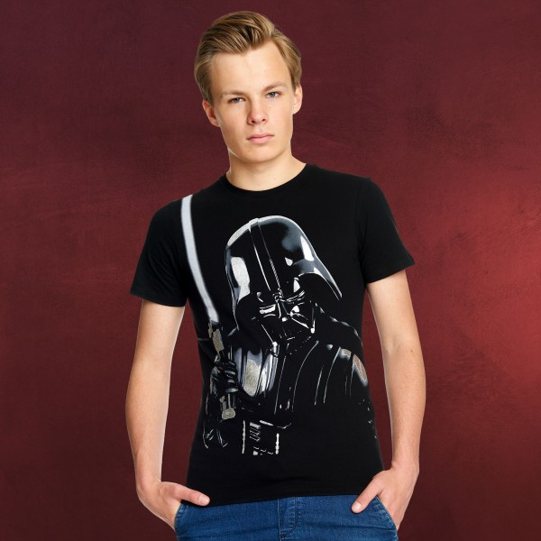 Star Wars - Darth Vader Portrait T-Shirt schwarz