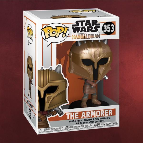 The Armorer Funko Pop Wackelkopf-Figur - Star Wars The Mandalorian
