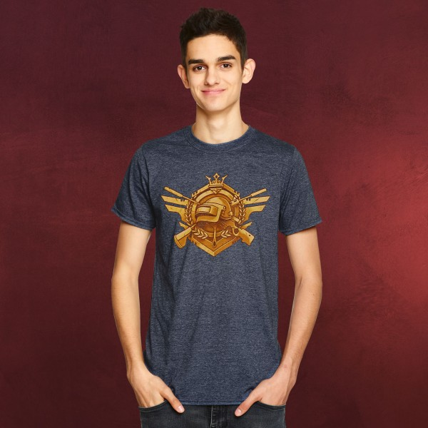 PUBG - Invincible T-Shirt blau