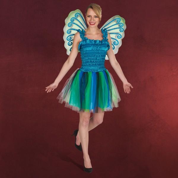Schmetterling Kleid mit Flügeln - Kostüm