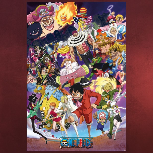 One Piece - Big Mom Saga Maxi Poster