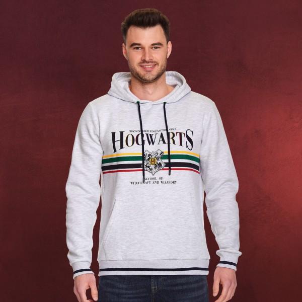 Harry Potter - Hogwarts Hoodie grau