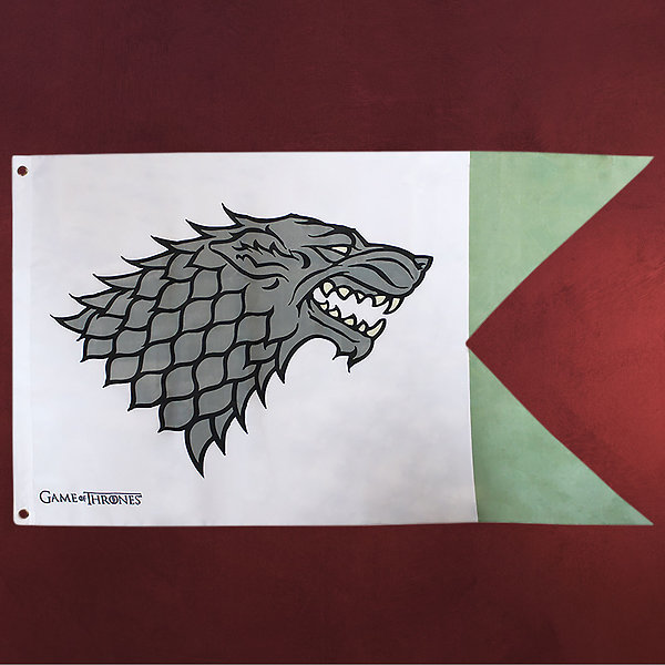 Game of Thrones - House Stark Flagge
