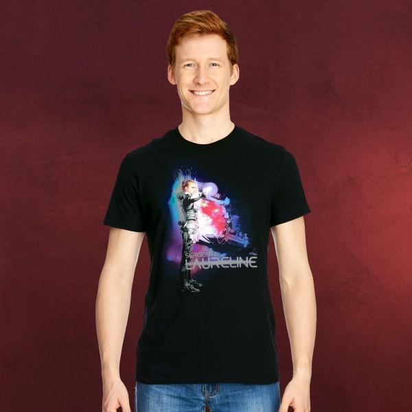 Valerian - Sergeant Laureline T-Shirt schwarz