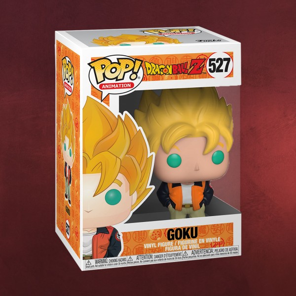 Dragon Ball - Super Saiyajin Goku Casual Funko Pop Figur
