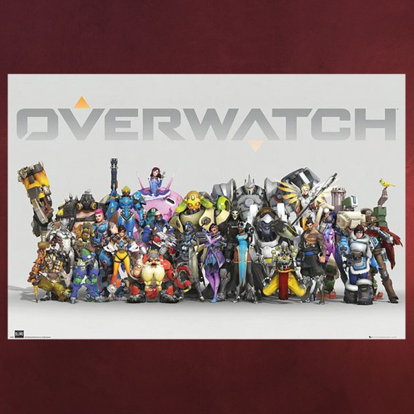 Overwatch - Characters Maxi Poster