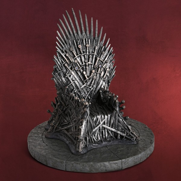 Game of Thrones - Eiserner Thron Replik 17 cm