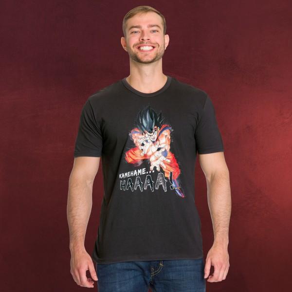 Dragon Ball - Kamehameha T-Shirt grau