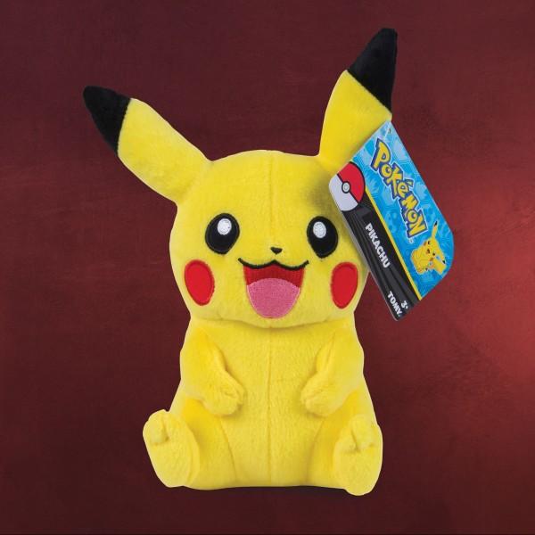 Pokemon - Pikachu Smiling Plüsch Figur 20 cm