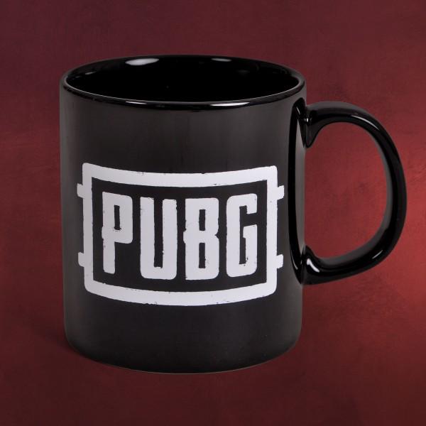 PUBG - Logo Tasse schwarz