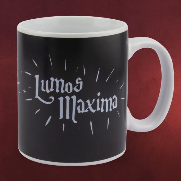 Harry Potter - Lumos Maxima Thermoeffekt Tasse
