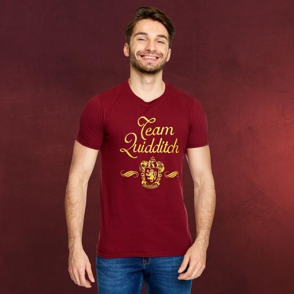 Harry Potter - Team Quidditch Gryffindor T-Shirt rot