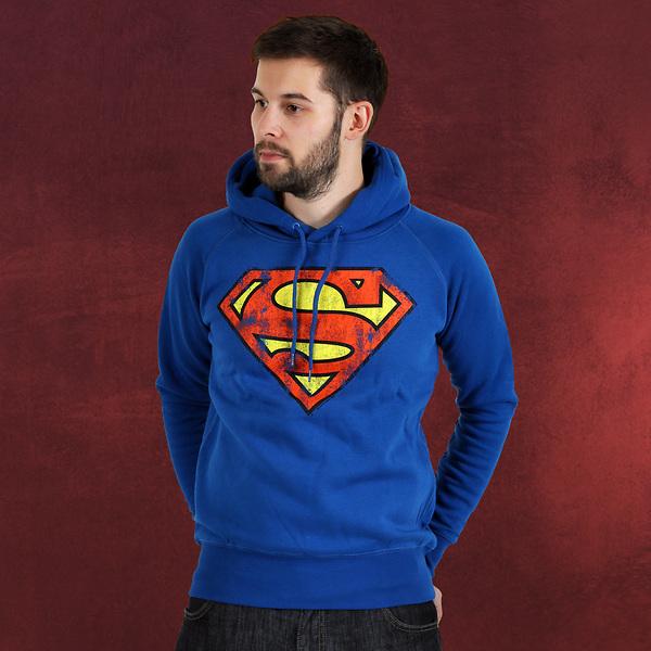 Superman Logo Hoodie Deluxe