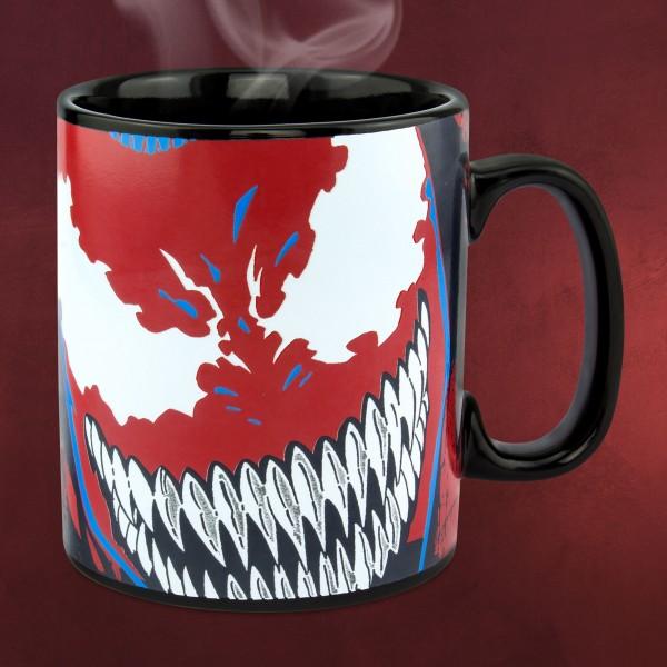 Marvel - Venom Face Thermoeffekt Tasse