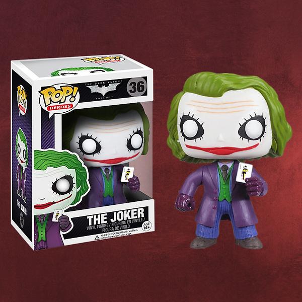 Batman The Dark Knight - Joker Pop Heroes Mini-Figur