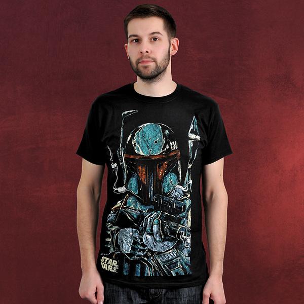 Star Wars - Boba Fett Vintage T-Shirt
