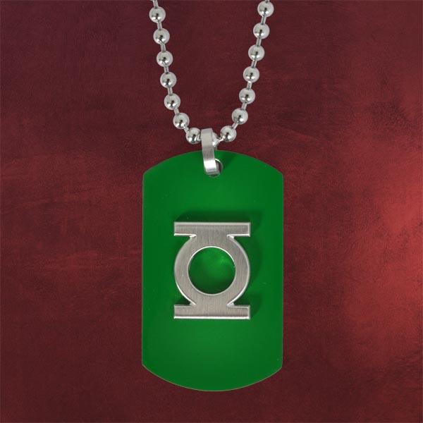 Green Lantern Anhänger grün inkl. Kette