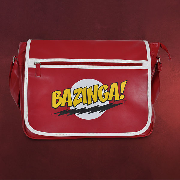 Big Bang Theory - Bazinga Messenger Bag