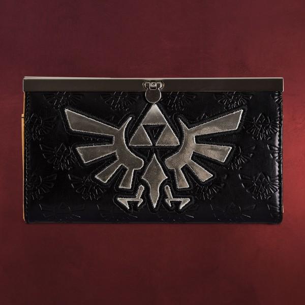 Zelda - Hyrule Logo Geldbörse schwarz