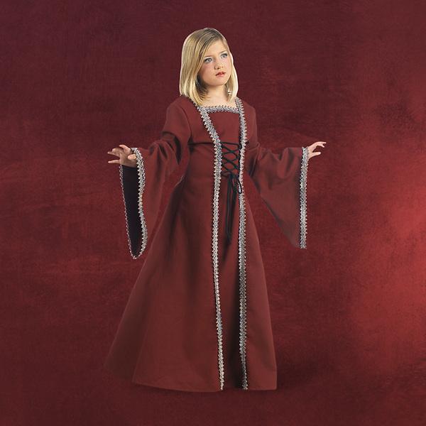 Mittelalter Lady Margrit Kinderkostüm