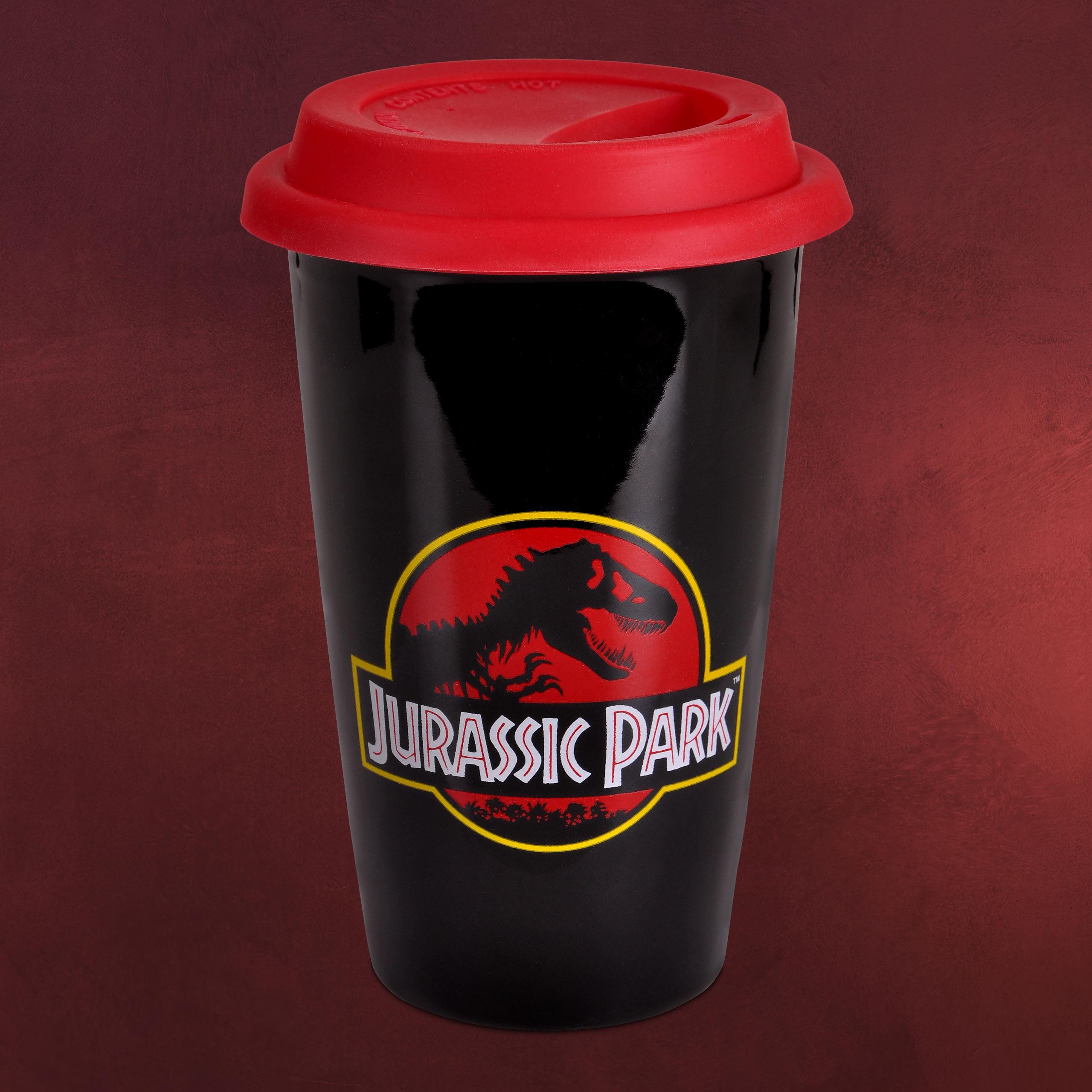 Jurassic Park Logo To Go Becher Elbenwald
