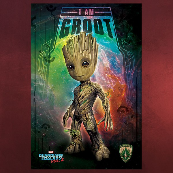 Guardians of the Galaxy - Space Groot Maxi Poster