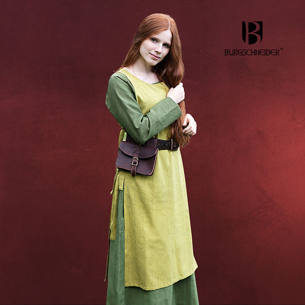 Mittelalter Überkleid Haithabu safrangelb