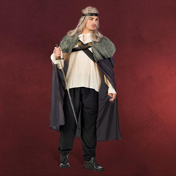 Krieger des Lichts - Kostüm Herren grau