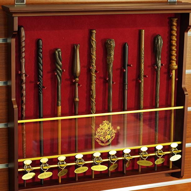Harry Potter Wandhalterung für Charakter Zauberstabkollektion