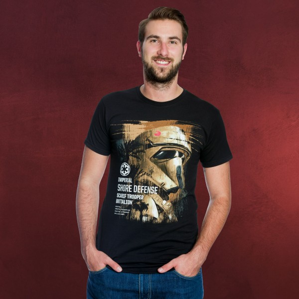 Star Wars - Rogue One Scarif Trooper T-Shirt schwarz