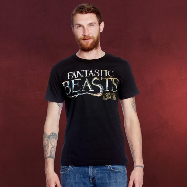 Phantastische Tierwesen - Logo T-Shirt schwarz