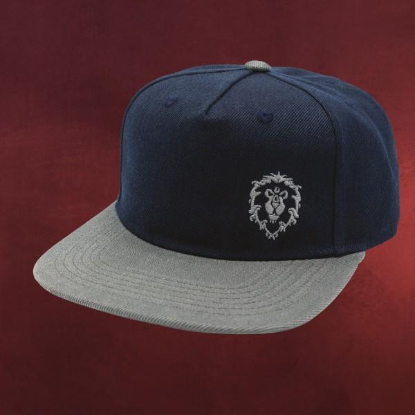 World of Warcraft - Alliance Logo Snapback Cap blau-grau