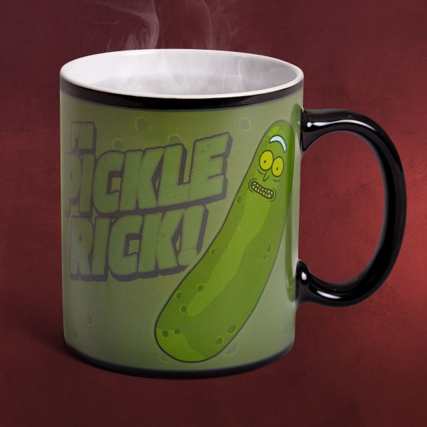 Rick and Morty - I'm Pickle Rick Thermoeffekt Tasse