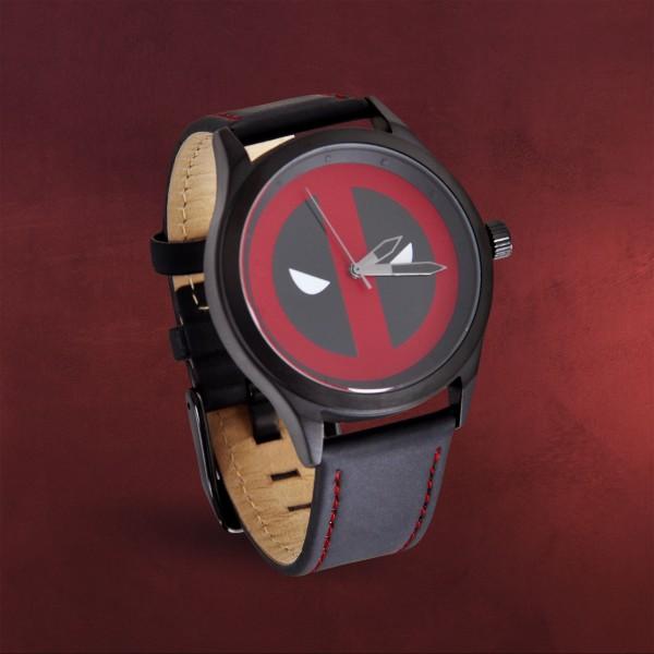 Deadpool - Logo Uhr schwarz