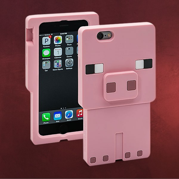 Minecraft - Pig Character iPhone 6 Schale