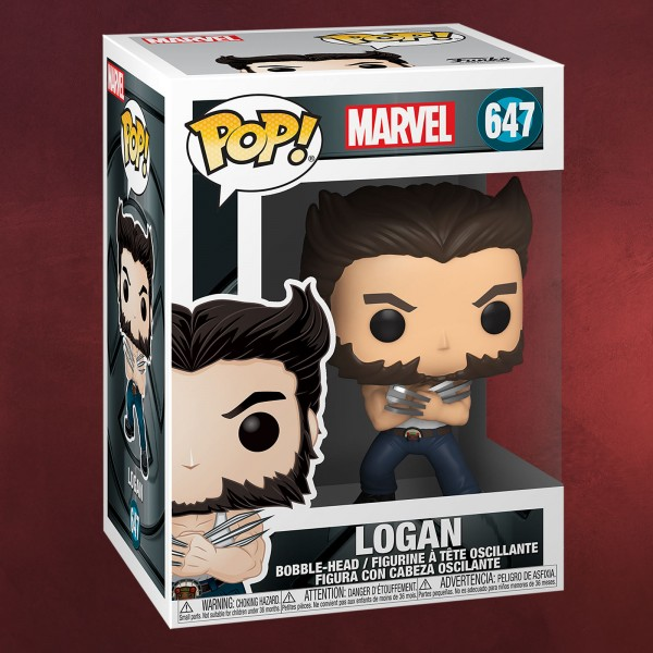 X-Men - Logan Funko Pop Wackelkopf-Figur