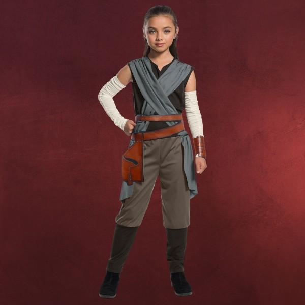 Star Wars - Rey Last Jedi Kostüm Kinder
