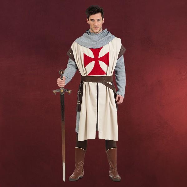 Mittelalter Kostüm Tempelritter Herren