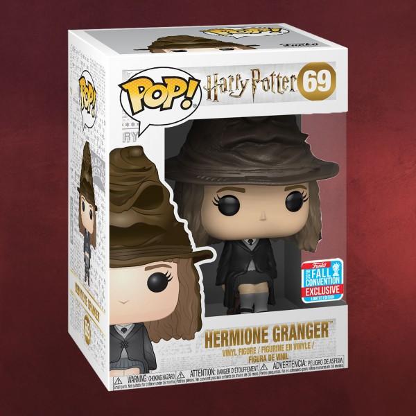 Harry Potter - Hermine mit Sprechendem Hut Funko Pop Figur exklusiv