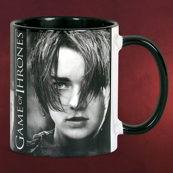 Game of Thrones - Arya Stark Tasse - Black Line