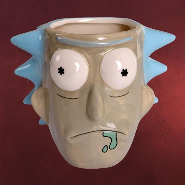 Rick and Morty - Rick Sanchez 3D Tasse
