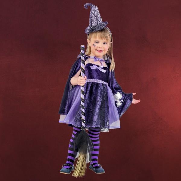Zauberhexe - Kostüm Kinder lila